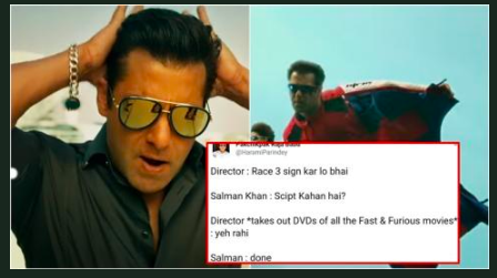 <p>'Race 3' vs. 'Fast and Furious' </p>