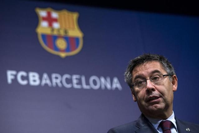 FC Barcelona could leave La Liga but club will analyse situation 'calmly', says president