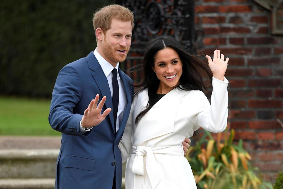 It is not known who will walk Meghan Markle down the aisle as she weds Prince Harry on Saturday. Source: CNBC