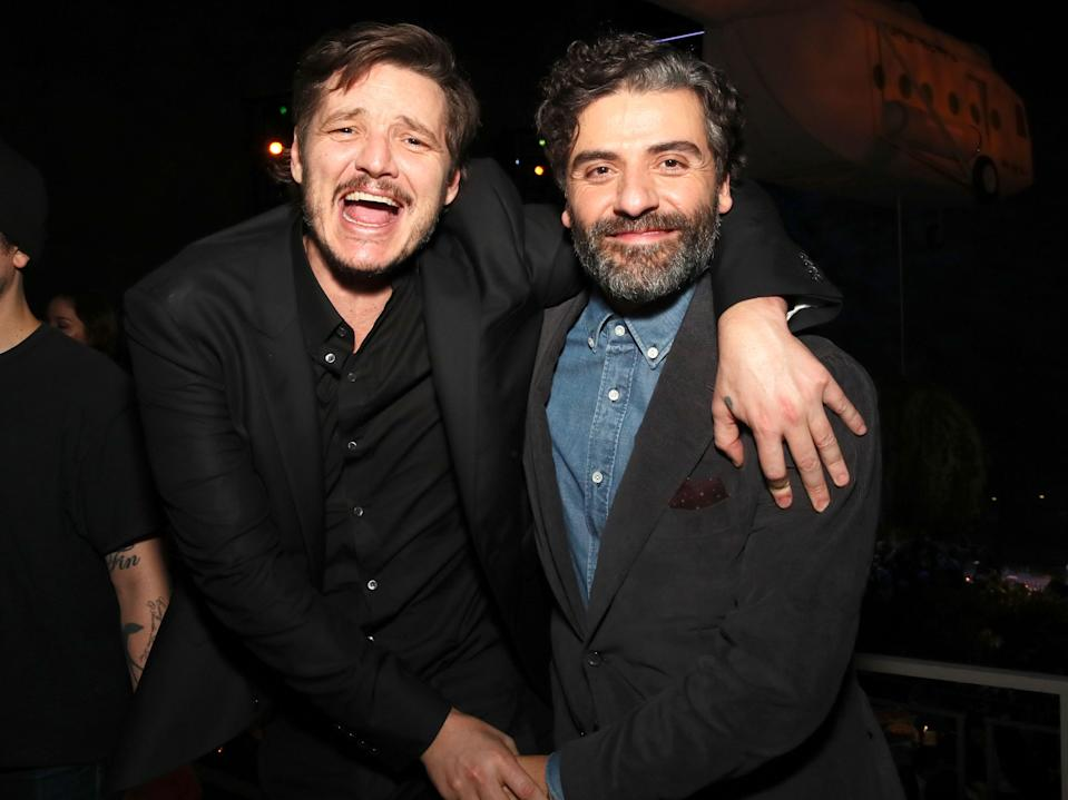 Pedro Pascal and Oscar Isaac in 2019.