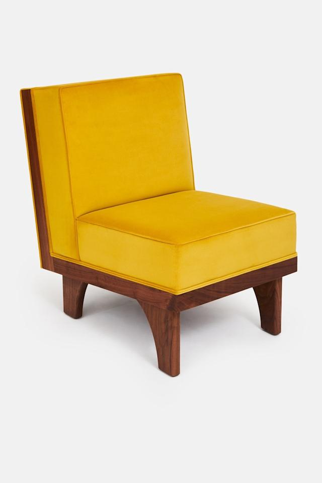 """When husband-and-wife duo Sebastian and Amanda Reant started <a rel=""""nofollow"""" href=""""http://www.luteca.com/"""">Luteca,</a> their Mexican modern-inspired furnishings were way ahead of the curve.  Now this look is in high demand, and their new line lounge chair designed by Michael van Beuren is available from <a rel=""""nofollow"""" href=""""https://theline.com/"""">The Apartment by the Line</a>."""