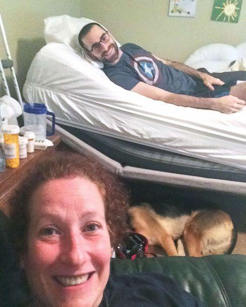 PHOTO: Alane Levy of Atlanta, Georgia, came to care for Josh Libman and his family after seeing a post on Facebook about his fight with cancer this summer. (Keira Miller)