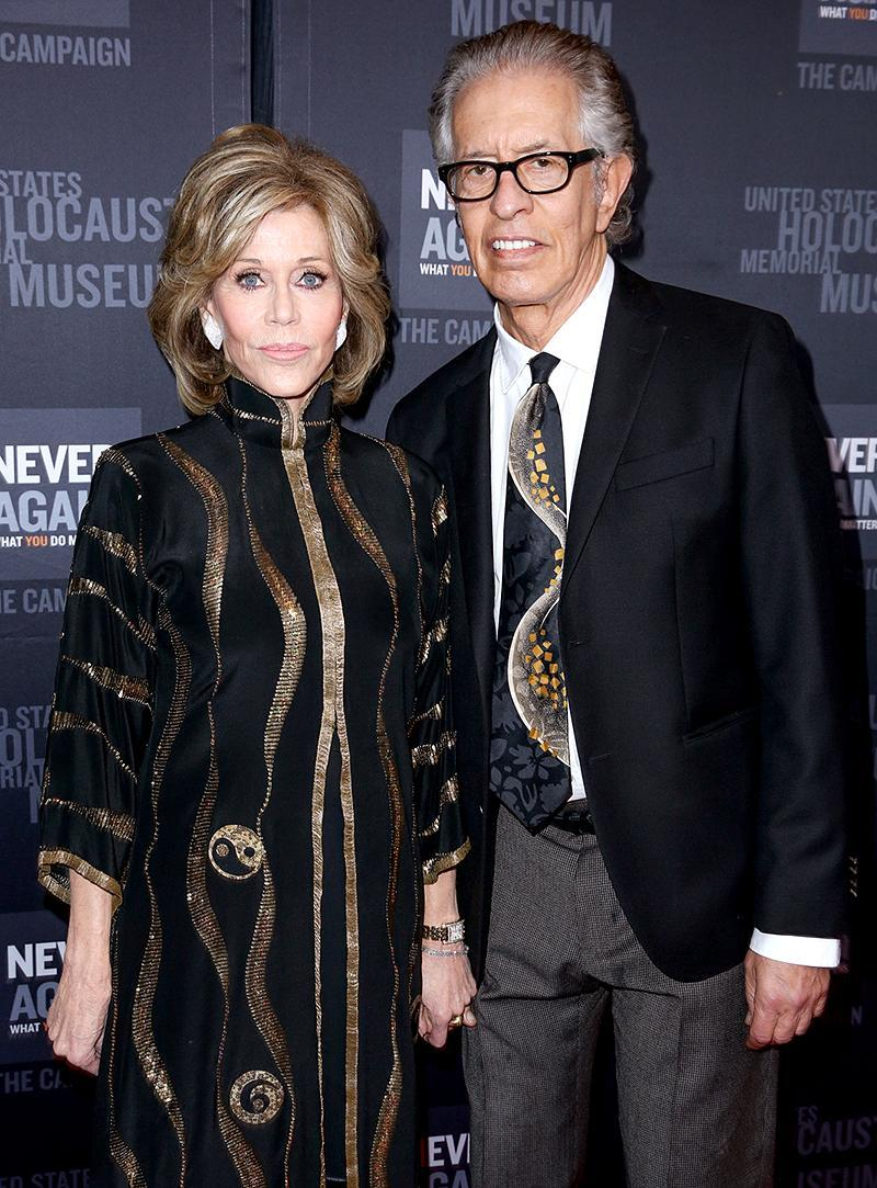"""<p>Jane Fonda had been married three times and was 74 by the time she finally found what she called <a rel=""""nofollow noopener"""" href=""""https://www.thesun.co.uk/archives/news/748819/jane-fondas-rampant-sex-life-at-74/"""" target=""""_blank"""" data-ylk=""""slk:""""intimacy with a man."""""""" class=""""link rapid-noclick-resp"""">""""intimacy with a man.""""</a> The lucky guy was music producer Richard Perry, with whom her love affair didn't last. After eight years together, they <a rel=""""nofollow"""" href=""""https://www.yahoo.com/celebrity/jane-fonda-richard-perry-split-221800427.html"""" data-ylk=""""slk:broke up;outcm:mb_qualified_link;_E:mb_qualified_link;ct:story;"""" class=""""link rapid-noclick-resp yahoo-link"""">broke up</a> in January, although Perry assured <i>Page Six</i> the two are still """"very close."""" (Photo by Rich Fury/Invision/AP) </p>"""
