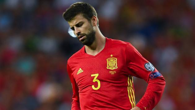 Pique named in Spain side for Albania clash