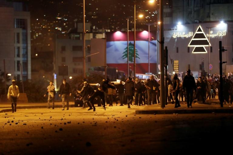 The violence erupted as Lebanon prepares to hold parliamentary consultations on Monday to appoint a new prime minister to replace a cabinet that resigned in the face of unprecedented street protests
