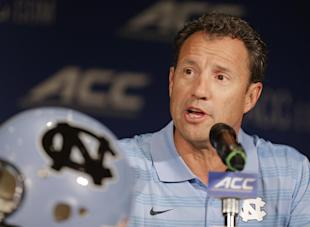 Larry Fedora issued a statement on the suspended players on Wednesday. (AP)