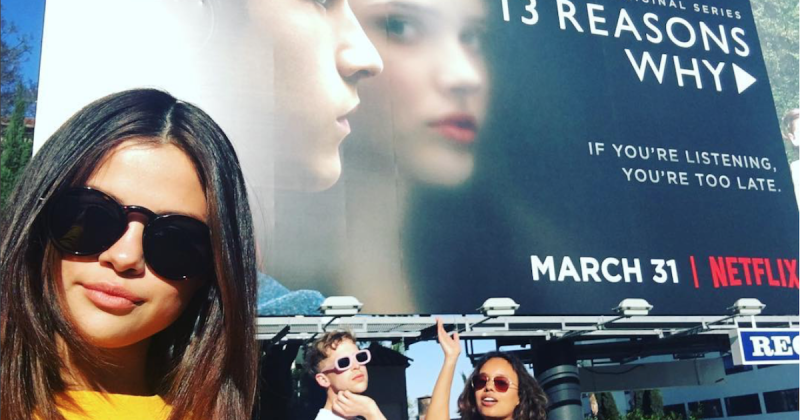 Selena Gomez and her 13 Reasons Why castmates revealed their matching tattoos on Instagram (Copyright: Instagram/selenagomez)