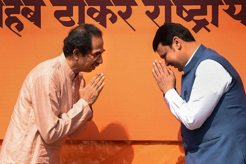 No Headway as Deadline to Form Govt in Maharashtra Looms Ahead, Allies BJP and Shiv Sena Refuse to Budge