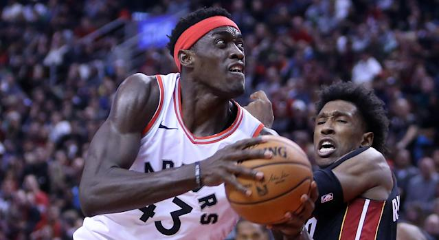 Toronto's Pascal Siakam has been a big part of the Raptors' NBA-best 20-4 start to the season. (Photo by Vaughn Ridley/Getty Images)