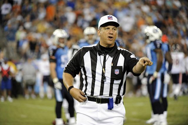 Former NFL game official Alberto Riveron is the league's new senior vice president of officiating. (AP)