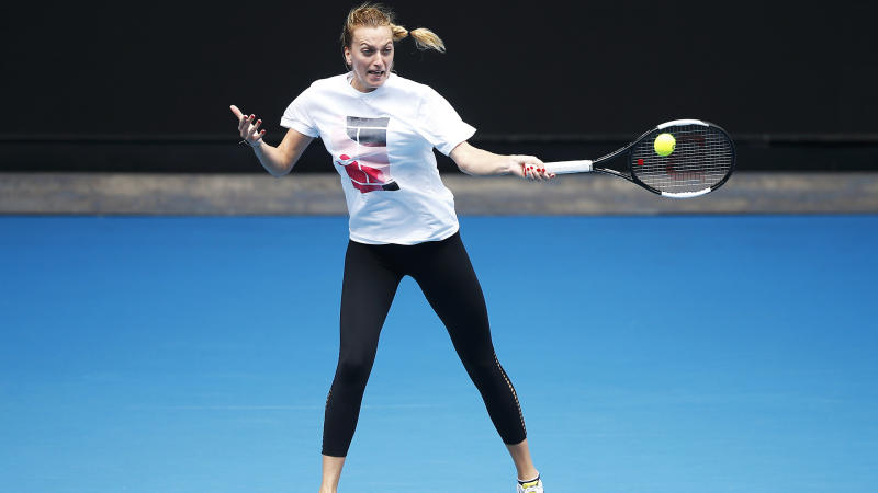 Australian Open 2020: Melbourne air quality a worry for asthma sufferer Kvitova