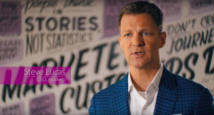 Former Marketo CEO Steve Lucas helped sell the company to Adobe in 2018.