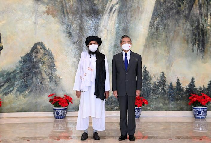 Taliban meeting with Chinese foreign minister Wang Yi