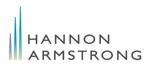 Hannon Armstrong Joins Partnership for Carbon Accounting Financials