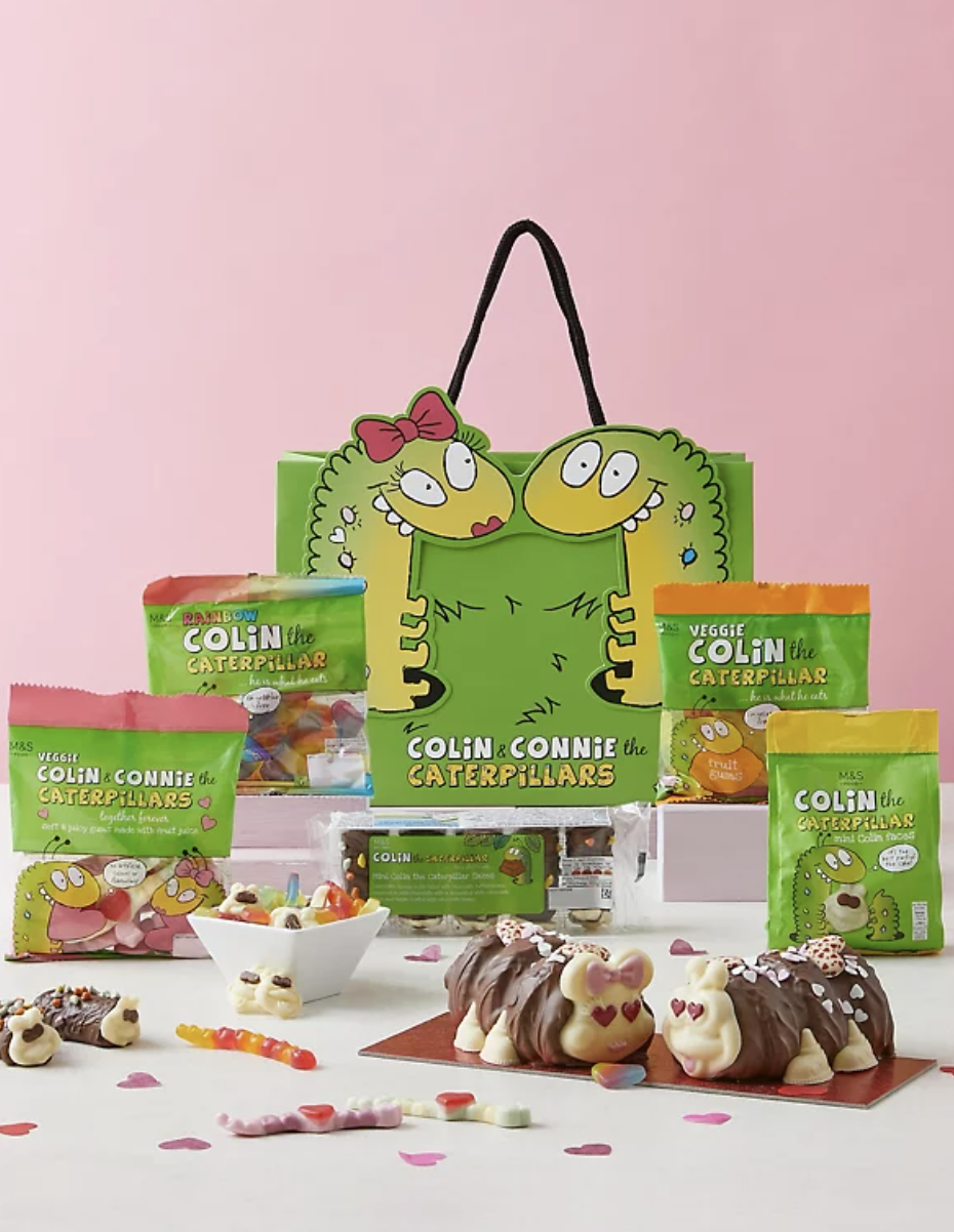 Love Is In The Air With Colin & Connie Gift Bag (Marks & Spencer)