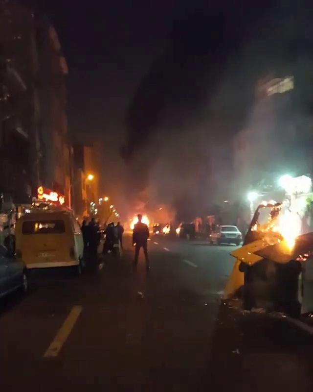 <p>People protest in Tehran, Iran, Dec. 30, 2017 in this still image from a video obtained by Reuters. (Video still: Reuters) </p>