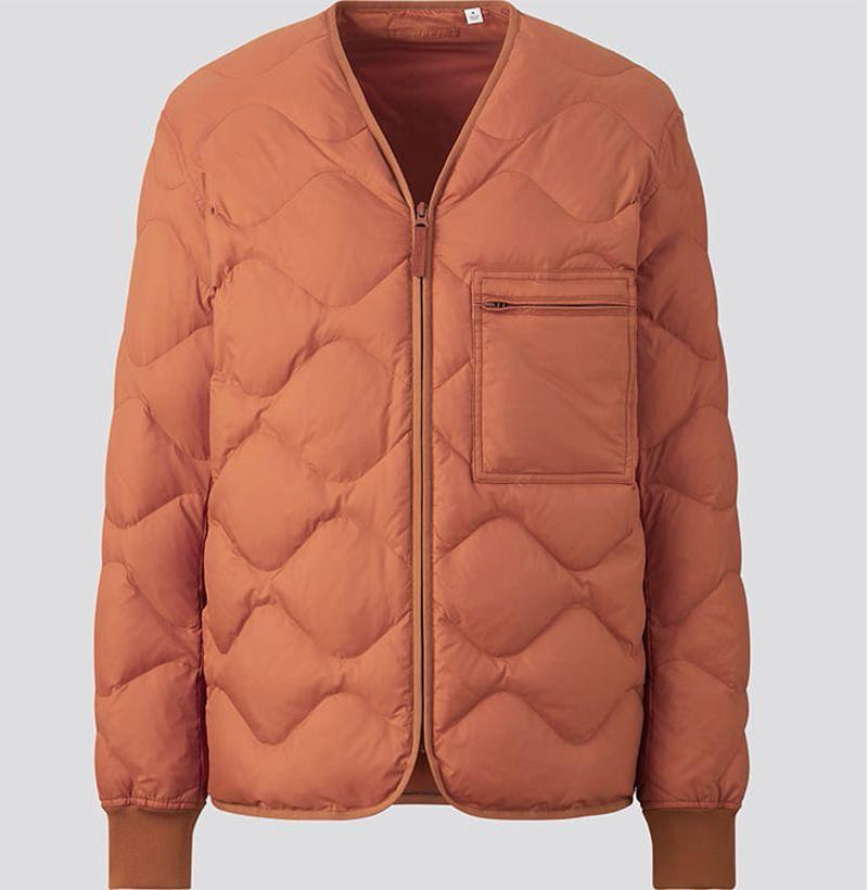 """<p><strong>Uniqlo U</strong></p><p>uniqlo.com</p><p><strong>$89.90</strong></p><p><a href=""""https://go.redirectingat.com?id=74968X1596630&url=https%3A%2F%2Fwww.uniqlo.com%2Fus%2Fen%2Fu-recycled-down-jacket-436751COL29SMA005000.html&sref=https%3A%2F%2Fwww.esquire.com%2Fstyle%2Fmens-fashion%2Fg34743153%2Fbest-new-menswear-nobember-21-2020%2F"""" rel=""""nofollow noopener"""" target=""""_blank"""" data-ylk=""""slk:Shop Now"""" class=""""link rapid-noclick-resp"""">Shop Now</a></p>"""