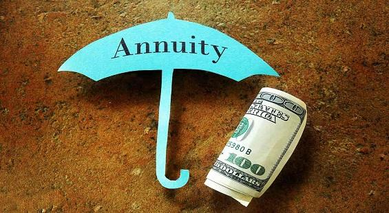 What are the different kinds of annuities?