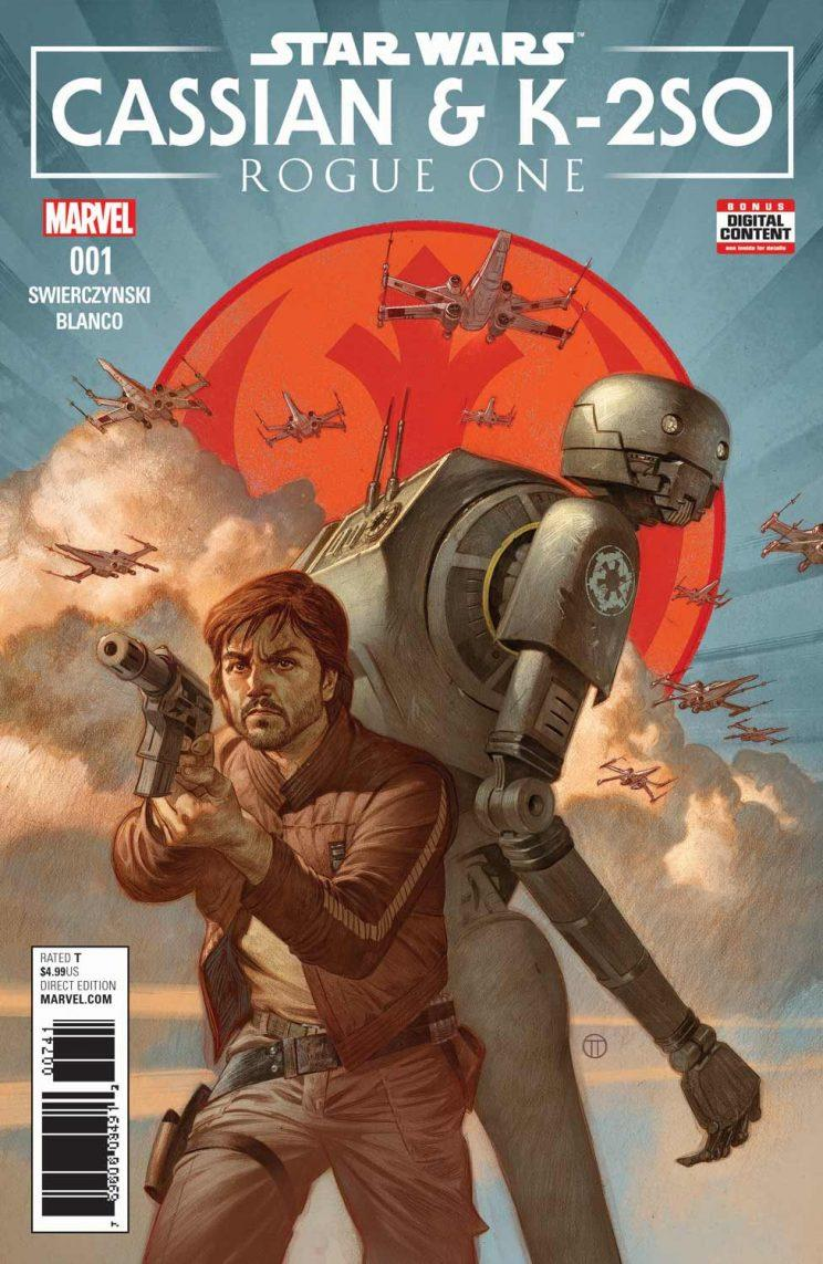 Star Wars Cassian and K-2SO Marvel Comics