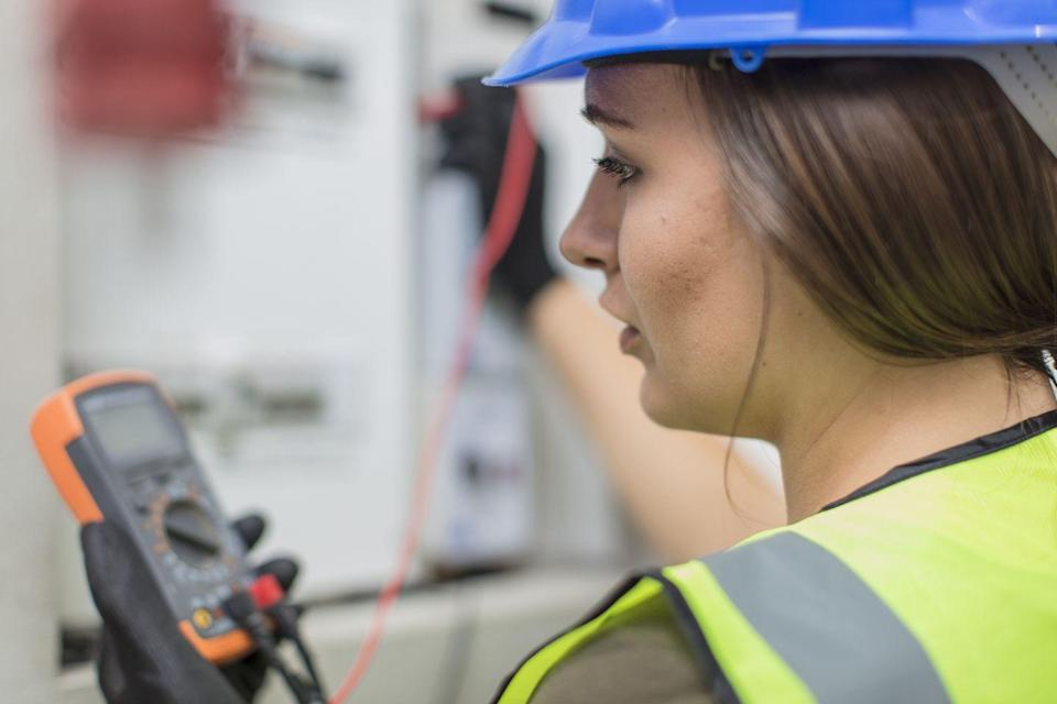 """<p>It seems like such a simple thing, but so many people don't know how to read the voltage from their appliances and their circuit breakers, and it can really be a lifesaver. When Courtney Keene, director of operations of <a href=""""http://www.myroofingpal.com/"""" rel=""""nofollow noopener"""" target=""""_blank"""" data-ylk=""""slk:MyRoofingPal"""" class=""""link rapid-noclick-resp"""">MyRoofingPal</a>, was suddenly stuck with a water pump that wasn't working, she ran out of water and needed to make sure the pump was getting electricity. </p><p>When that was done, she had to make sure the electricity was turned off so she could check the components. """"I wouldn't have been able to do either safely without a volt reader,"""" she says. """"It's a simple thing, but learning how to work the contacts, where to place them, how to read the volt reader and what numbers you should be seeing is crucial when dealing with electrical appliances in your home.""""</p>"""
