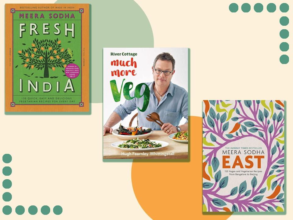 We've chosen these books because they all show that leaving out meat or fish doesn't limit how exciting or satisfying meals can be (iStock/The Independent)