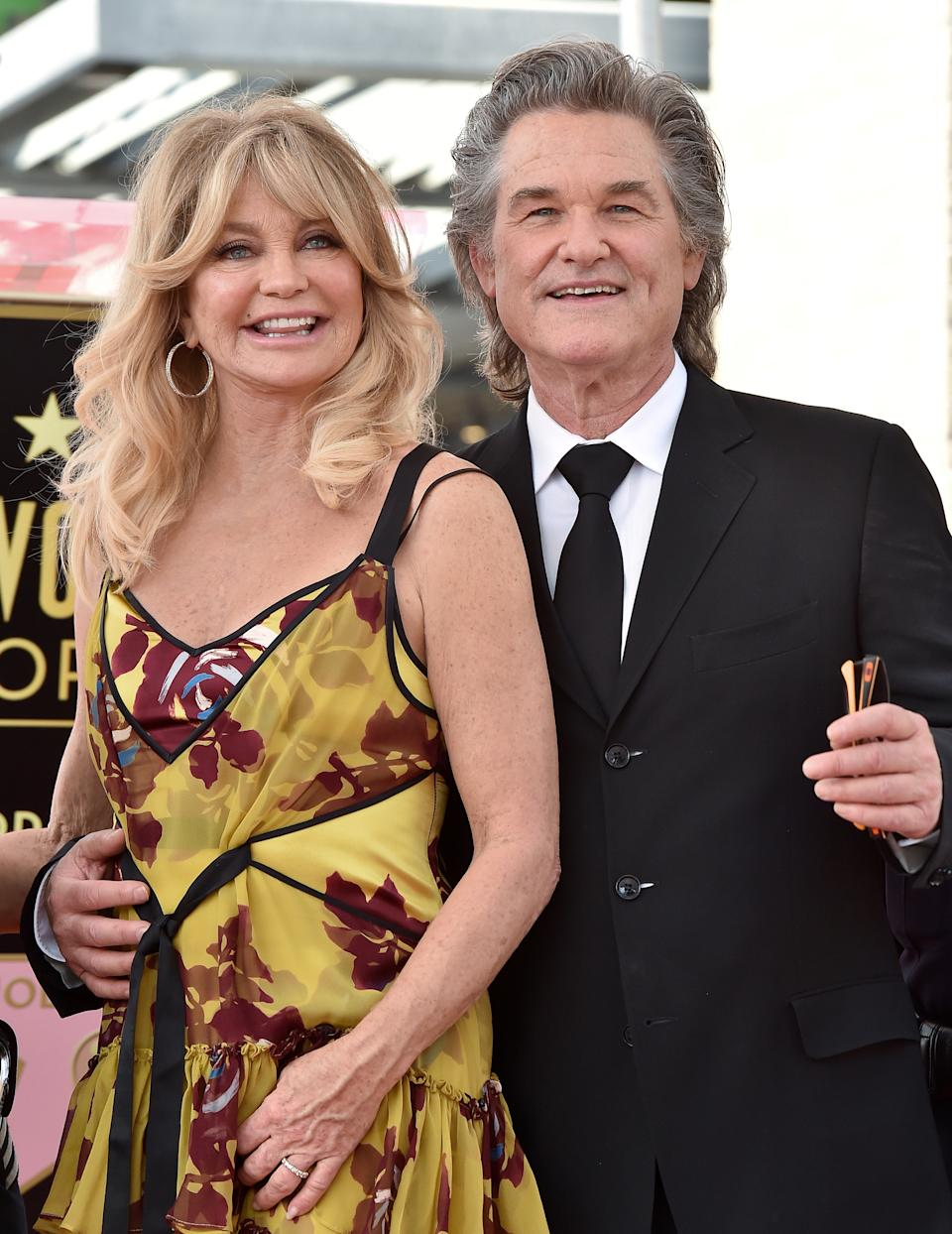 <p>Hawn and Russell's love is palpable - even after 37 years. Although they never legally married - the pair remain one of Hollywood's longest lasting relationships. <em>(Image via Getty Images)</em></p>