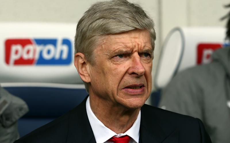 Arsenal's Manager Arsene Wenger before the English Premier League soccer match between West Bromwich Albion and Arsenal at the Hawthorns