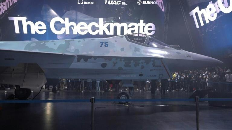 Russia unveils next-generation stealth fighter jet 'The Checkmate'