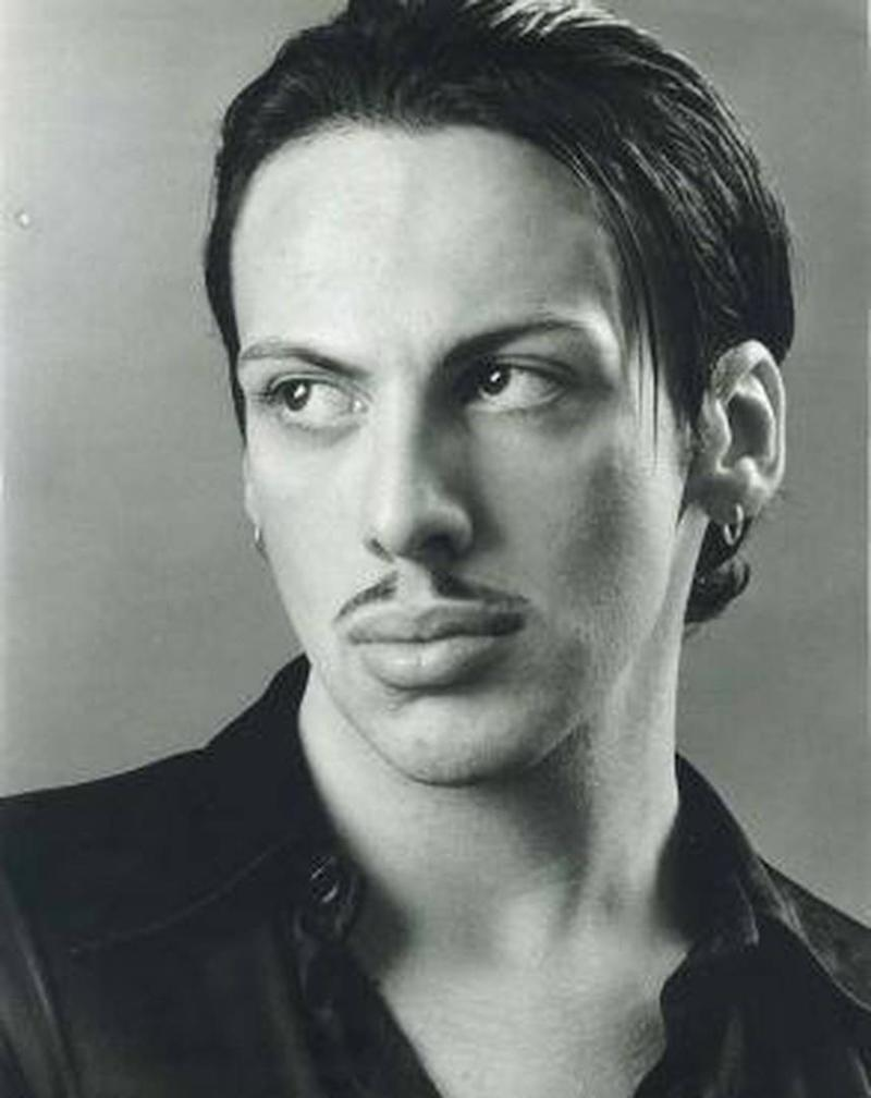 A photo of Neven Ciganovic from Zagreb, Croatia, before his three nose job procedures, Botox, cheekbone implants and jaw and chin fillers