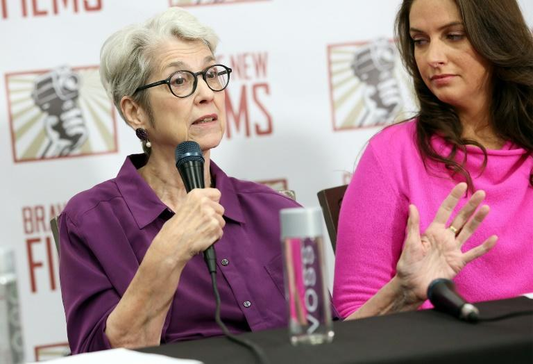 Accusers Jessica Leeds (left) and Samantha Holvey want President Donald Trump's past sexual misconduct allegations investigated by Congress