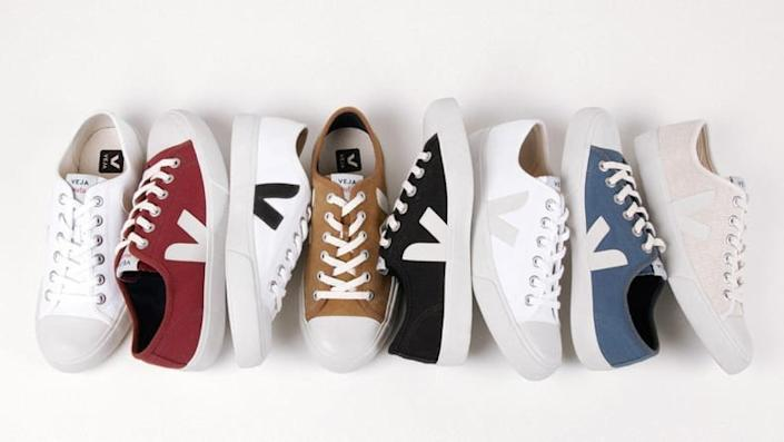 I'm obsessed with Veja's shoes.