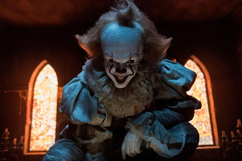 Bill Skarsgard has been wearing the Pennywise getup and freaking out audiences since 2017's hit