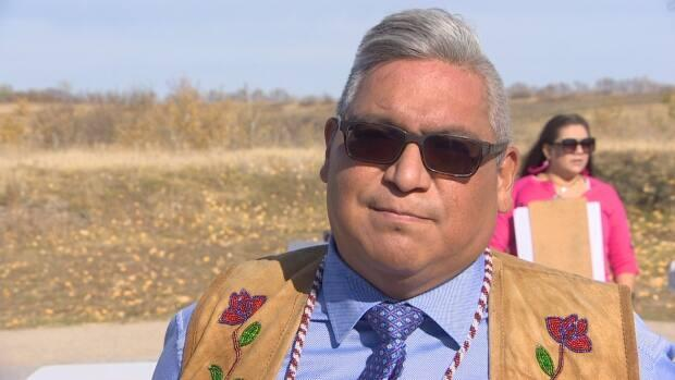 David Pratt, FSIN Vice Chief, says the memorandum of understanding will assist First Nations members including those in urban areas. (CBC News - image credit)