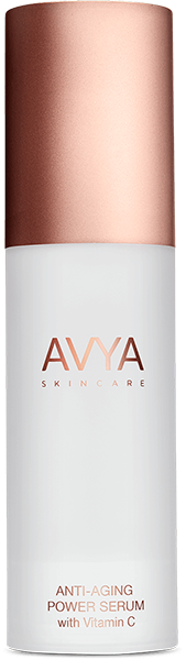 """This vitamin C serum goes for optimum brightening power, thanks to three additional clarifiers that make our derms' most-wanted list: turmeric extract, retinol, and niacinamide. <br> <br> <strong>Avya Skincare</strong> Anti-Aging Power Serum with Vitamin C, $, available at <a href=""""https://go.skimresources.com/?id=30283X879131&url=https%3A%2F%2Fwww.avyaskincare.com%2Fproducts%2Fanti-aging-power-serum"""" rel=""""nofollow noopener"""" target=""""_blank"""" data-ylk=""""slk:Avya Skincare"""" class=""""link rapid-noclick-resp"""">Avya Skincare</a>"""