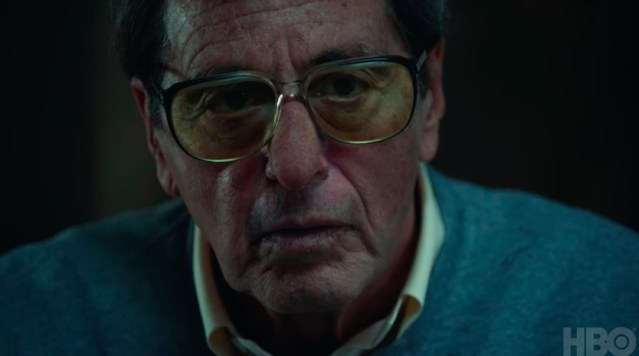 Al Pacino as Joe Paterno. (HBO)