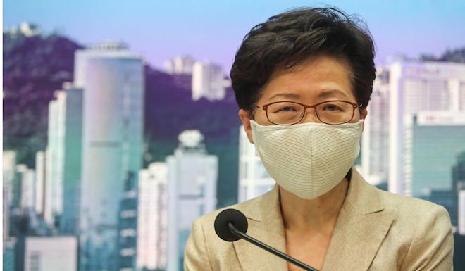 Carrie Lam says she has no intention of changing plans at the moment. Photo: Edmond So