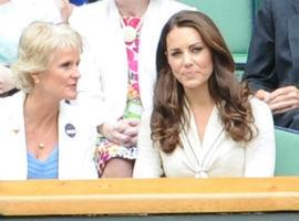 Kate Middleton Recycles Tennis Style Alexander McQueen Dress At Wimbledon