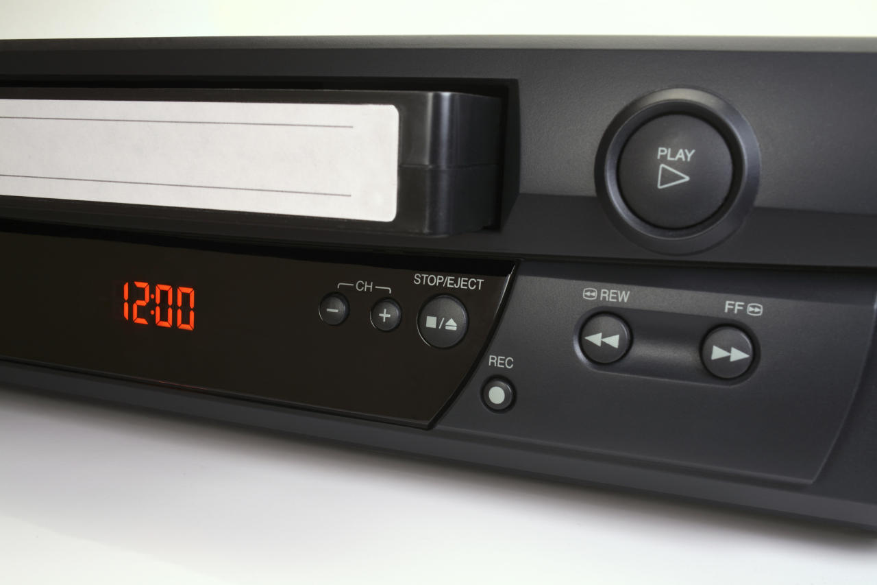 <p>Remember the days of worrying that someone would 'tape over' your VHS before you'd watched what you recorded? [Picture: Getty] </p>