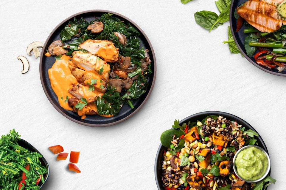 "<p><strong>Perfect for:</strong> Type-A eaters</p> <p><strong>The details:</strong> Snap Kitchen is all about building your meals around your personal goals. Low-carb? There's a plan for that. Keto-friendly? Snap Kitchen has you covered. Same goes for Whole 30, vegetarian, and high-protein lifestyles. The company also makes sure its recipes are quick and easy to create for busy people on the go. </p> <p><strong>The cost:</strong> Plans start at $25 a week. </p> <p><strong>Availability:</strong> Snap Kitchen currently provides free delivery within a specific zone and pick up from 35+ shops located throughout Austin, Dallas, Houston, and Philadelphia.</p> $25, Snap Kitchen. <a href=""https://www.snapkitchen.com/meal-plans/"" rel=""nofollow noopener"" target=""_blank"" data-ylk=""slk:Get it now!"" class=""link rapid-noclick-resp"">Get it now!</a>"