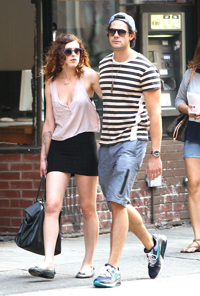 "Rumor has it that Bruce Willis and Demi Moore's oldest daughter has fallen hard! In fact, actress Rumer Willis has been all lovey-dovey with her actor boyfriend Jayson Blair, 28, since they hooked up in June. The couple were even spotted out celebrating Willis' 24th birthday, with her younger sisters Scout and Tallulah, on August 16. (8/17/2012)<div style=""display:none;"" class=""skype_pnh_menu_container""><div class=""skype_pnh_menu_click2call""><a class=""skype_pnh_menu_click2call_action"">Call</a></div><div class=""skype_pnh_menu_click2sms""><a class=""skype_pnh_menu_click2sms_action"">Send SMS</a></div><div class=""skype_pnh_menu_add2skype""><a class=""skype_pnh_menu_add2skype_text"">Add to Skype</a></div><div class=""skype_pnh_menu_toll_info""><span class=""skype_pnh_menu_toll_callcredit"">You'll need Skype Credit</span><span class=""skype_pnh_menu_toll_free"">Free via Skype</span></div></div>"