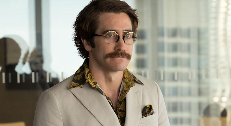 Jake Gyllenhaal as Jake Gyllenhaal as Dr. Johnny Wilcox, a zealous zoologist and TV personality in 'Okja' (Barry Wetcher / Netflix)