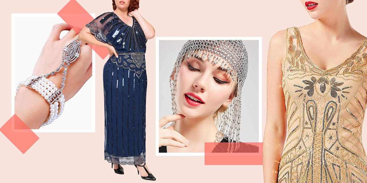 <p>No matter if you're headed to a <em>Great Gatsby</em>-themed party, or just planning to dress as your favorite literary characters this Halloween, we have you covered with these glitzy costumes and accessories that'll have you looking like you just stepped out of the Jazz Age. <br></p>