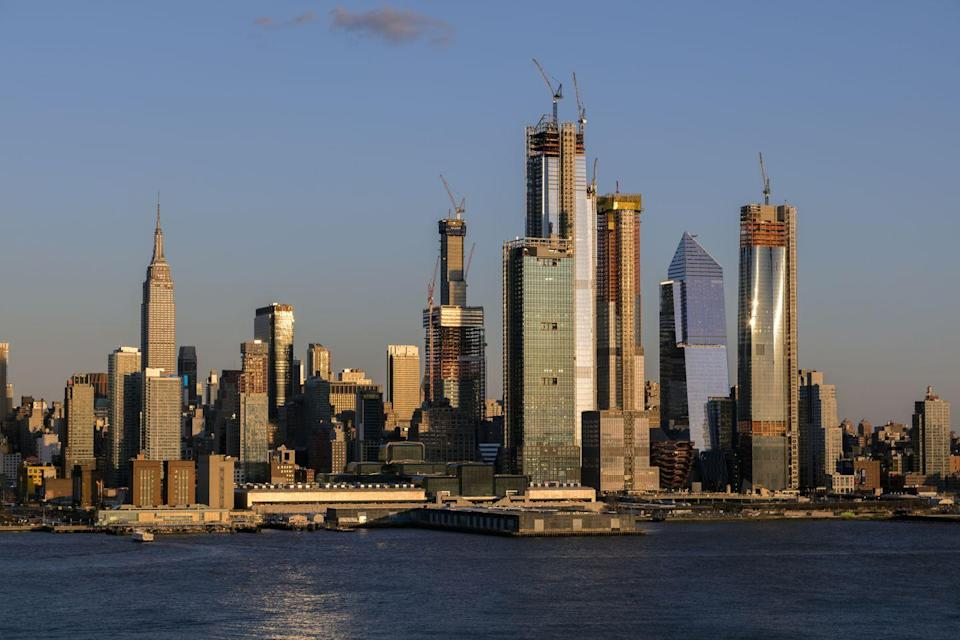 <p>As of September 2019, NYC is home to 27 supertall (300-600 meters) towers that are either completed, under construction, or in development.</p>