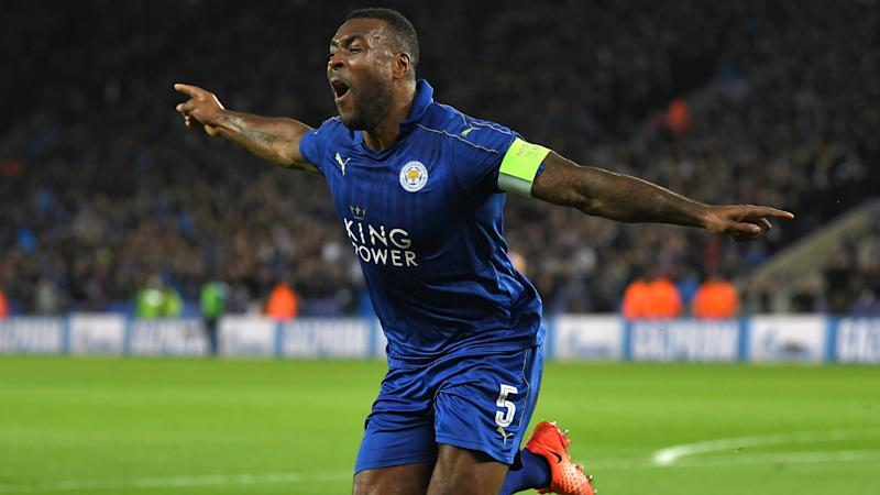 Wes Morgan Leicester City Champions League
