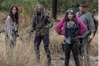 """<p>The ratings juggernaut is still killing it in viewership, so it's no surprise that AMC's <em>The Walking Dead</em> is definitely returning for more undead action. When <a href=""""https://www.hollywoodreporter.com/live-feed/walking-dead-season-11-delayed-2021-1304283"""" rel=""""nofollow noopener"""" target=""""_blank"""" data-ylk=""""slk:the show returns for season 11 in 2021"""" class=""""link rapid-noclick-resp"""">the show returns for season 11 in 2021</a>, it will have a lot of catching up to do as season 10 was cut short due to the COVID-19 production halt. As for the series' spinoffs: <em>Fear the Walking Dead</em> has been renewed for a sixth season, while the first season of <em>The Walking Dead: World Beyond</em> is expected to debut in October. </p>"""
