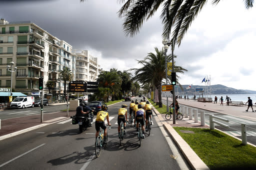 UCI relaxes COVID-19 exclusion rules at Tour de France