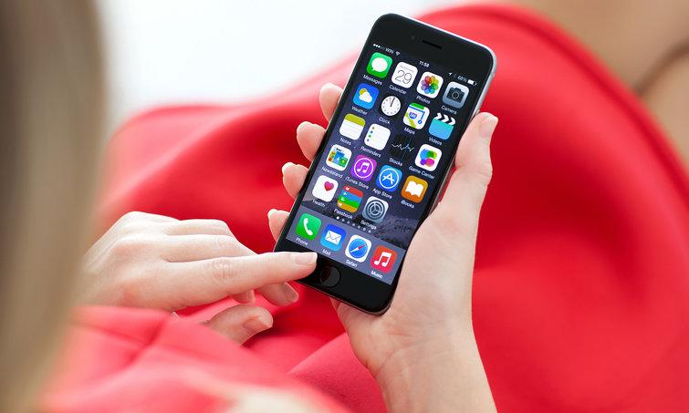 The iPhone will likely ditch the Touch ID button. Credit: Denys Prykhodov/Shutterstock