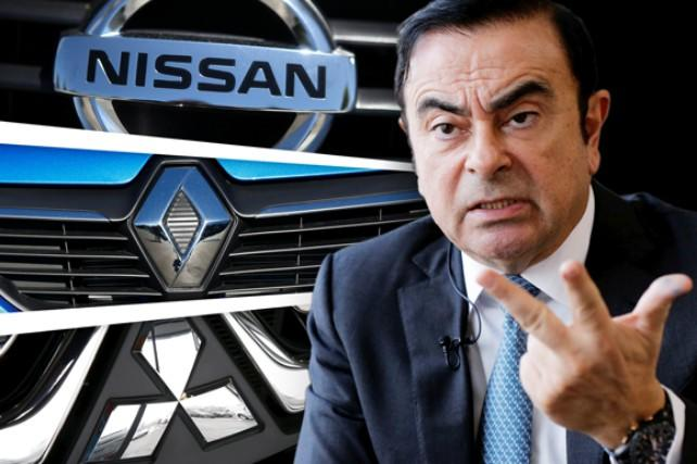 Carlos Ghosn, head of Nissan-Renault-Mitsubishi alliance