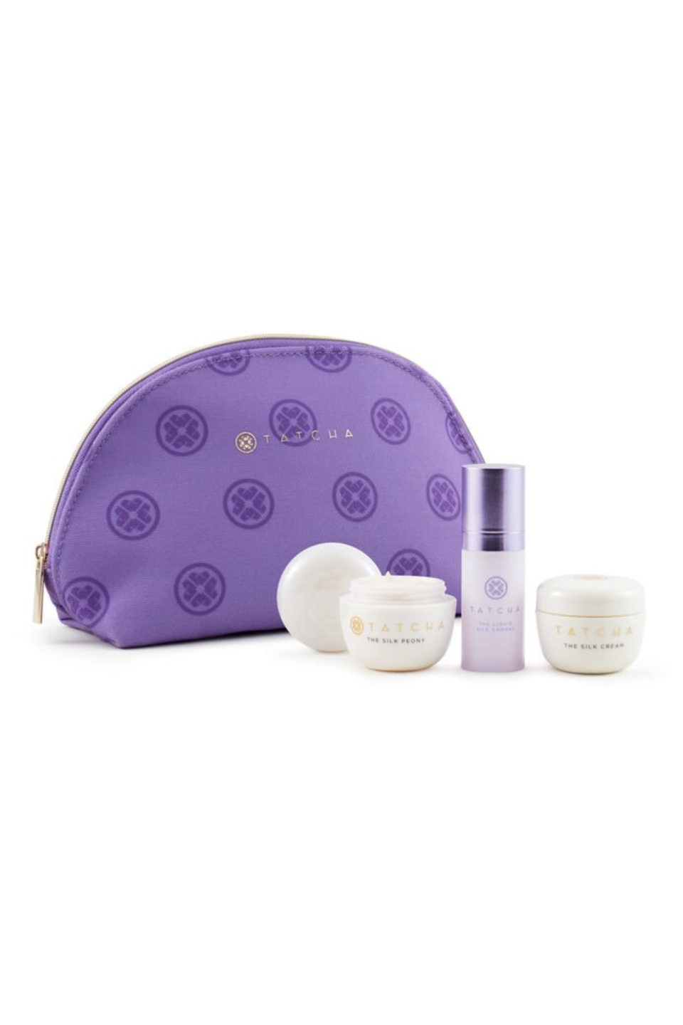 """<p><strong>Tatcha</strong></p><p>www.tatcha.com</p><p><strong>$68.00</strong></p><p><a href=""""https://go.redirectingat.com?id=74968X1596630&url=https%3A%2F%2Fwww.tatcha.com%2Fproduct%2FSB10033T.html%3Fcgid%3Deyecare%23page%3D1%26start%3D1&sref=https%3A%2F%2Fwww.marieclaire.com%2Ffashion%2Fg33849312%2Fgifts-that-give-back%2F"""" rel=""""nofollow noopener"""" target=""""_blank"""" data-ylk=""""slk:SHOP IT"""" class=""""link rapid-noclick-resp"""">SHOP IT</a></p><p>Cult beauty brand Tatcha is known for its amazing skincare products, so gift this moisturizing trio (comes with an eye cream, face cream, and primer). With each purchase, you'll help fund Tatcha's girls education program <a href=""""https://www.tatcha.com/giving-back.html"""" rel=""""nofollow noopener"""" target=""""_blank"""" data-ylk=""""slk:Beautiful Faces, Beautiful Futures"""" class=""""link rapid-noclick-resp"""">Beautiful Faces, Beautiful Futures</a>. </p>"""