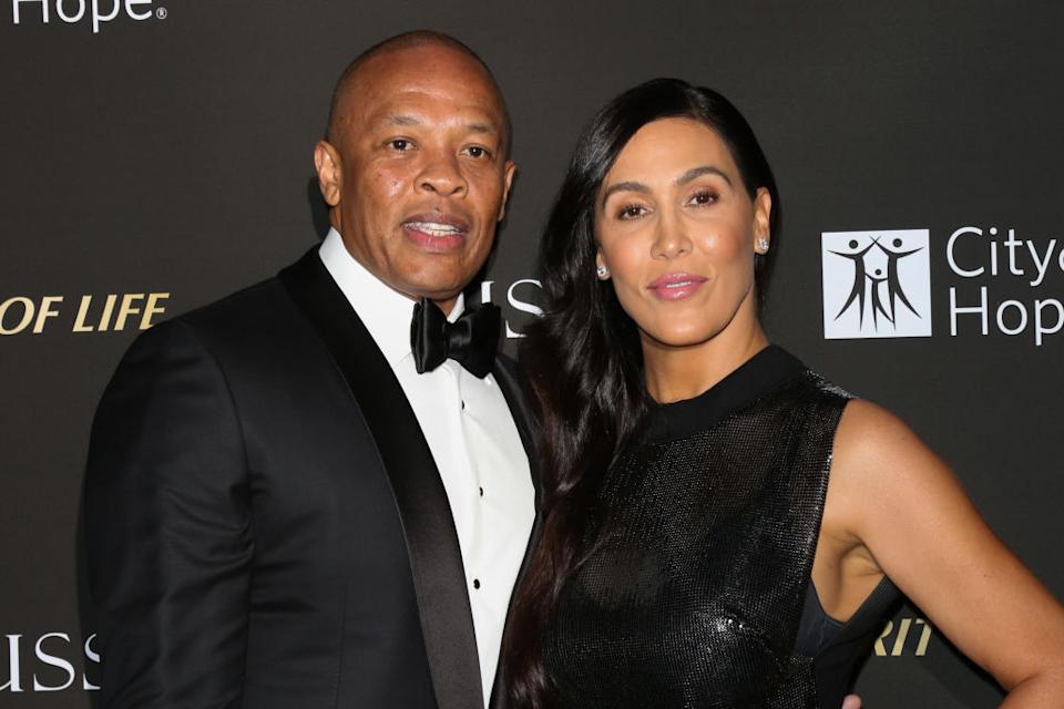Dr. Dre and Nicole Young married in 1996. (Photo: Paul Archuleta/FilmMagic)